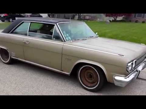 Pre-tire Burnout - 1966 AMC Rambler Rebel Classic