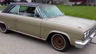 Pre-tire Burnout - 1966 AMC Rambler Rebel Classic