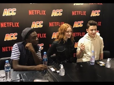 Stranger Things Cast at Argentina Comic Con