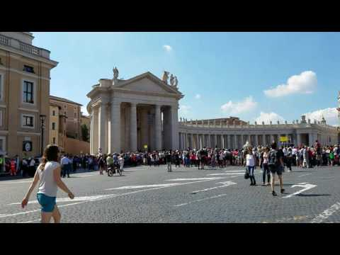 Vatican City with Pope