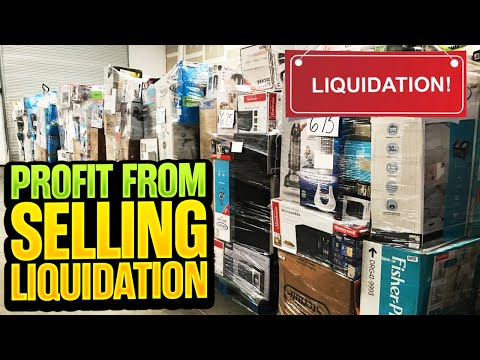 this is EXACTLY how much PROFIT I made Reselling a Liquidation Pallet [Online Arbitrage Revenue]