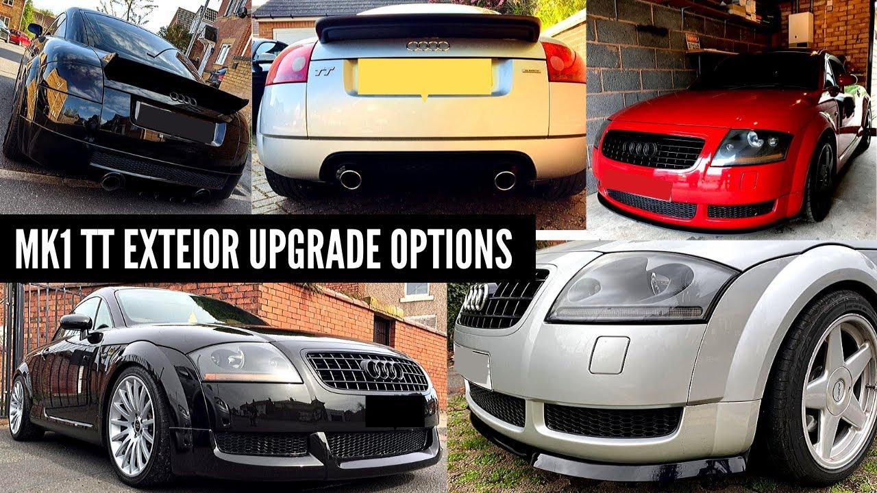 Audi TT Mk1 Bumper Grill Diffuser And Splitter Upgrade ...