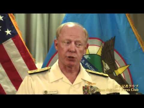 ウィラード米太平洋軍司令官 2012.1.12(ハワイ時間)