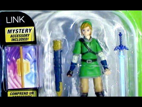 Link Action Figure Zelda World of Nintendo Toy Review