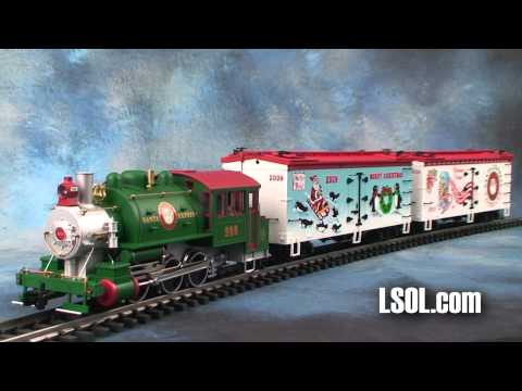 Merry Christmas Trains from USA Trains in Large Scale