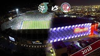 Estadios de la FINAL Liga MX / Toluca VS Santos