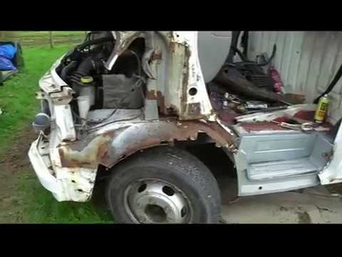 Mk5 Transit Rust Repairs Part 2 Youtube