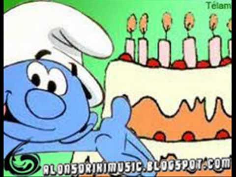 Los Pitufos Y Alonsorikimusic Te Desean Feliz Cumpleaños Youtube