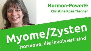 Welche Hormone bei Myomen oder Zysten in der Schieflage sind