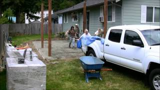 How To Build A Patio In 3 Minutes