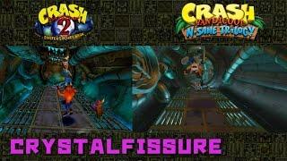 Crash Bandicoot N. Sane Trilogy - Sewer or Later PS1 vs. PS4 Comparison