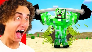Can You Beat The IMPOSSIBLE Minecraft YOU LAUGH = LOSE CHALLENGE?!