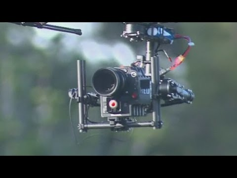 Hollywood welcomes drones to the set