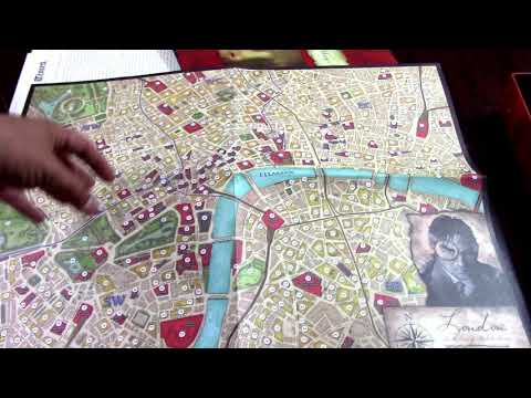 Sherlock Holmes Consulting Detective Unboxing/Review