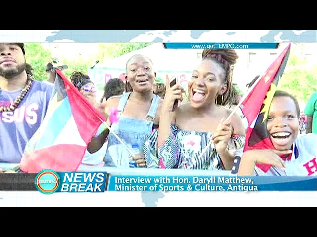 Tempo News   Interview with Hon. Daryll Matthew
