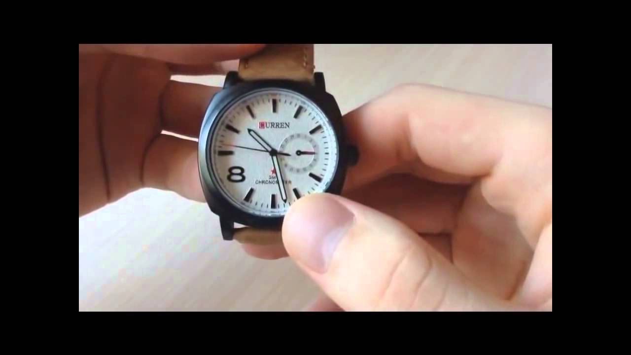 инструкция на часы curen