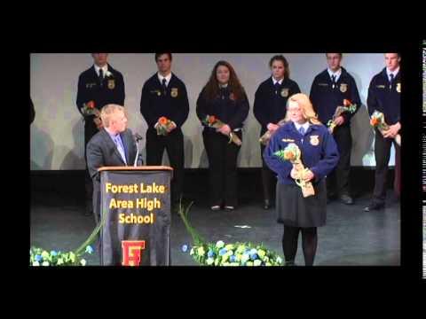 Forest Lake High School FFA Banquet