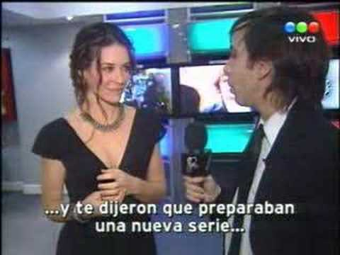 Dominic Monaghan y Evangeline Lilly - CQC Argentina Clemente