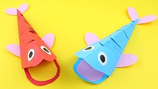 How To Make Paper Humpback Whale | Origami Humpback Whale | Easy Origami Tutorial