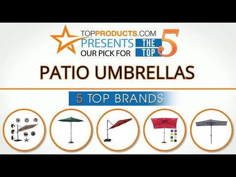 Best Patio Umbrella Reviews 2017 How To Choose The