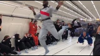 Usain Bolt running in zero gravity, says it's 'out of this world experience'