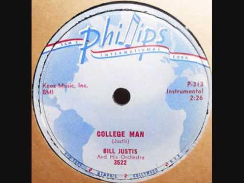 BILL JUSTIS   College Man   78  1958