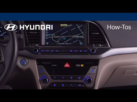 How to Use the Basic Navigation Features | Hyundai