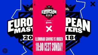 [🔴] European Masters Spring Split Knockout 2018 - Semi Finals