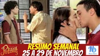 "Resumo semanal ""As aventuras de Poliana""   25/11 a 29/11 completo News Show"
