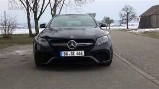 Mercedes AMG E63 S 4MATIC+  E63 V8 Acceleration, Drift and Sound