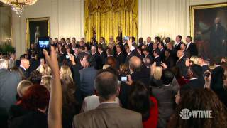 The Franchise: A Season with the San Francisco Giants - SF Giants Meet President Obama - The Franchise: A Season with the San Francisco Giants - SHOWTIME