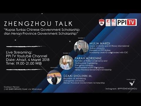 [LIVE[ Zhengzhou Talk - Kupas Tuntas Chinese dan Henan Province Government Scholarship