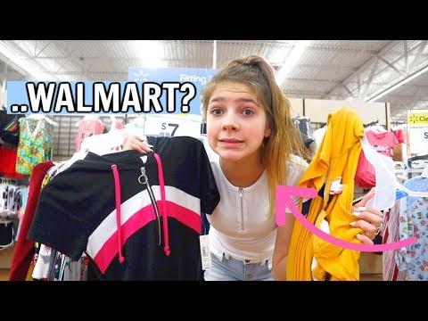 Shopping at stores I never shop at: WALMART Shocking Results! Ep 4