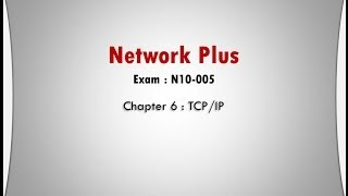 network plus ch 6 tcp ip