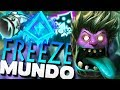 PERMA SLOW FREEZE MUNDO - IMPOSSIBLE TO ESCAPE! (SERIOUS TILTER) - Dr Mundo Jungle Gameplay