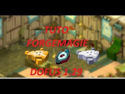 Dofus 129 Tuto Forgemagie