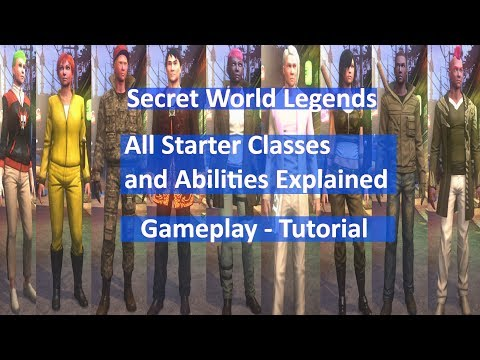 Secret World Legends Classes Gameplay and Abilities Tutorial for New / Returning Players