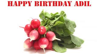 Adil   Fruits & Frutas - Happy Birthday