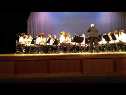North Naples Middle School Honor band