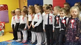 Dzieci z Przedszkola nr 3 na Święto Niepodległości
