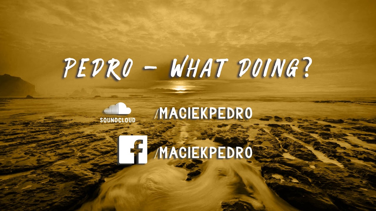PEDRO - WHAT DOING? | HIPHOP 90BPM SAMPLED BEAT [FOR SALE]