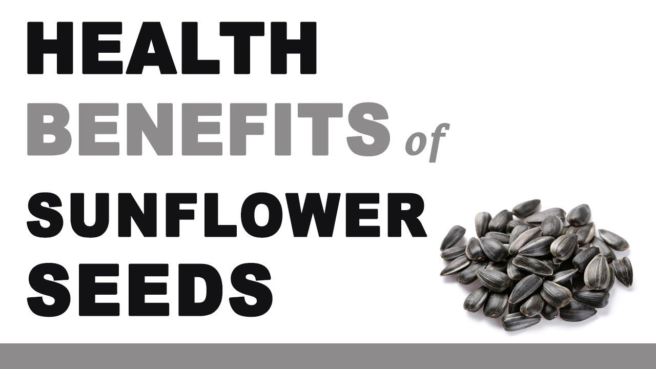 sunflower seeds health benefits