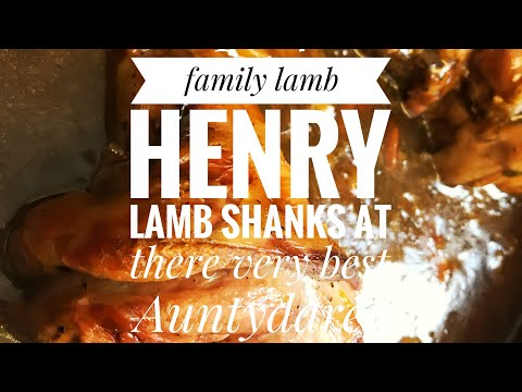 LAMB HENRY | The Perfect Slow Cooked Lamb Shank With A Rich Mint Gravy #familyfood #budgetmeals