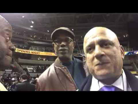 Donald Lacy, Will Hammons At Super Bowl Media Day #SB50