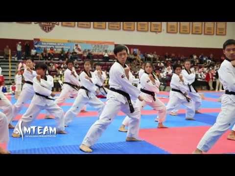 Team-M Taekwondo: California Open demo