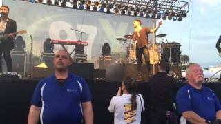 Panic! At The Disco - Miss Jackson, live at 97x bbq 2015