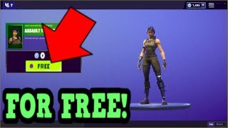 HOW TO GET ASSAULT TROOPER SKIN FOR FREE! (Fortnite Old Skins)