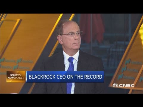 BlackRock CEO Larry Fink on market outlook
