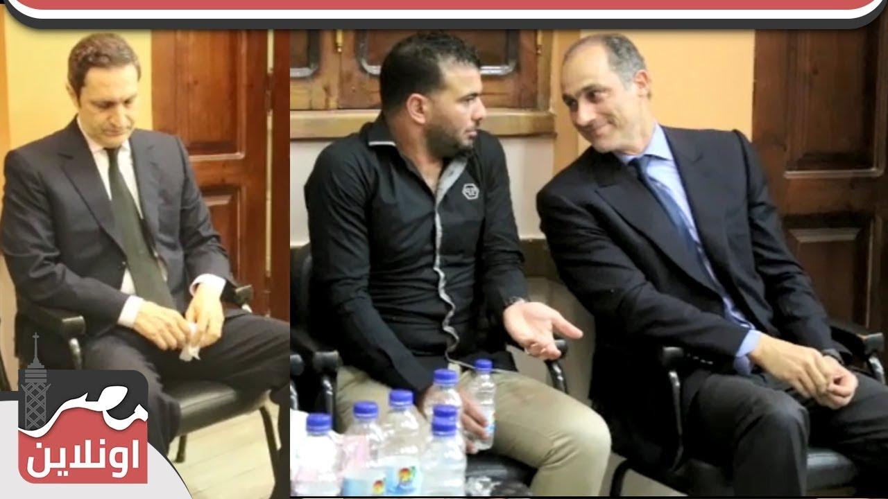 جمال وعلاء مبارك بعزاء والد أحمد حسام ميدو