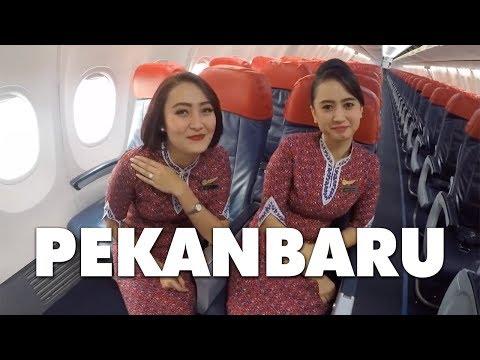 Cockpit View - Landing @ Sultan Syarif Kasim II, Pekanbaru